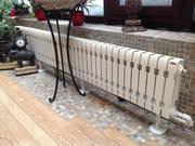 Монтаж систем отопления под ключ в Гродзянке